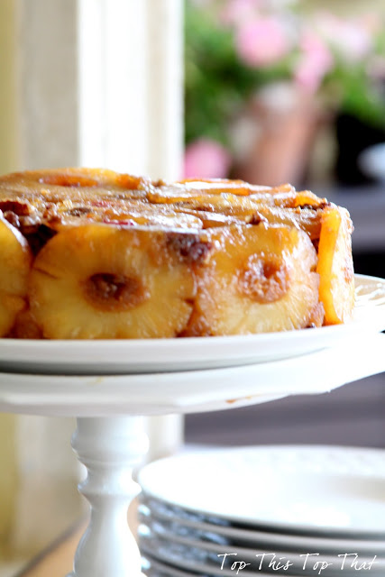 Best Pineapple Upside Down Cake Cast Iron Skillet