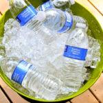 DIY outdoor ice bucket