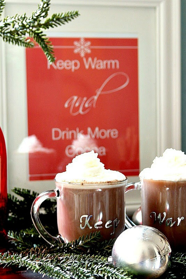 Keep Warm and Drink Cocoa Printable