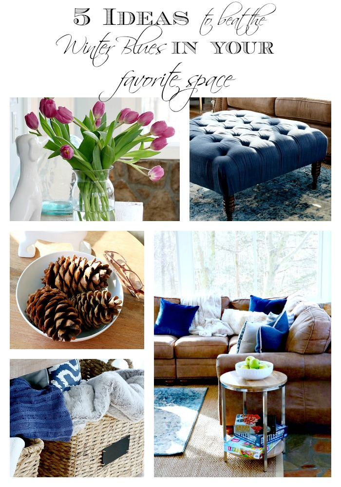5 ideas to beat the winter blues in your favorite space