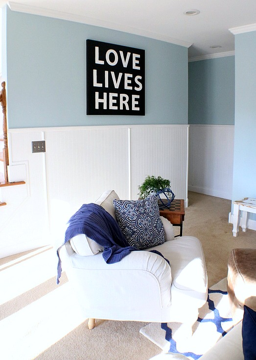 how to give your DIY sign a makeover