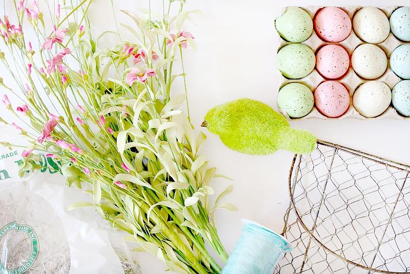 hanging spring baskets
