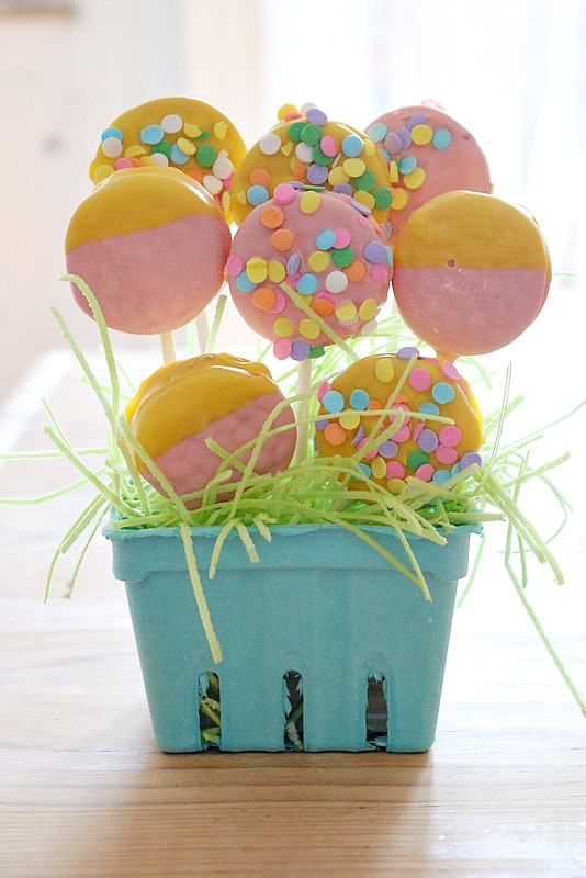 Spring Cookie Pop Arrangement
