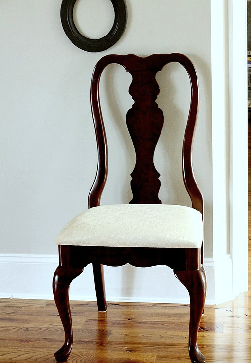 Making a dining chair less formal duke manor farm for Dining chairs for less