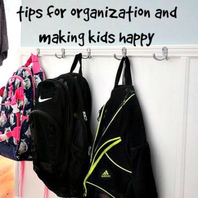 4 Back to school tips to stay organized and keep kids happy