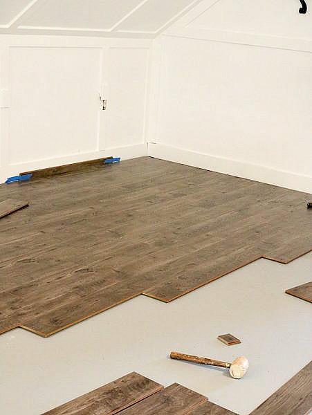 New Floors Using Golden Select Duke Manor Farm