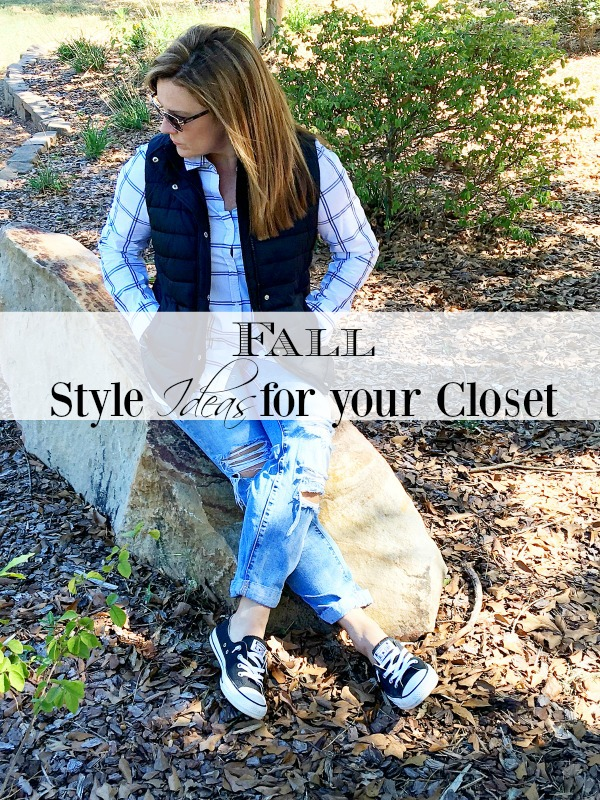 Fall Style Ideas for your closet
