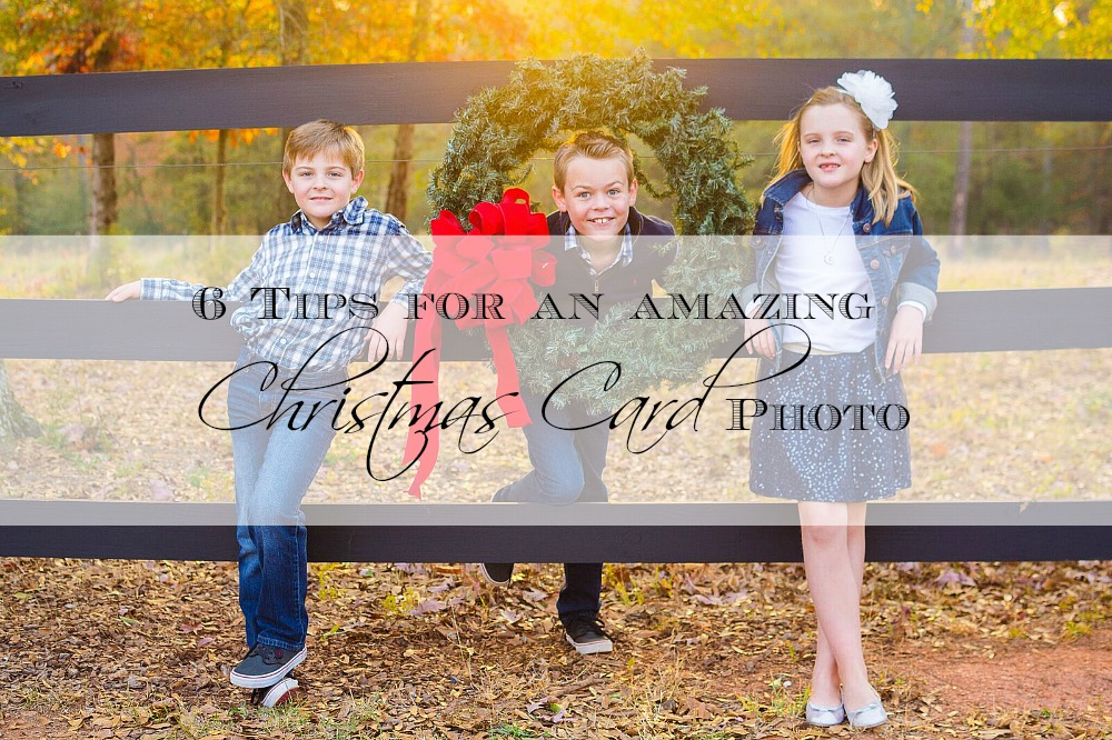 6 Tips for an amazing Christmas Card Photo