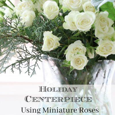 miniature-rose-centerpiece