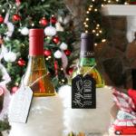 4 Holiday Ideas using White Fur Ribbon