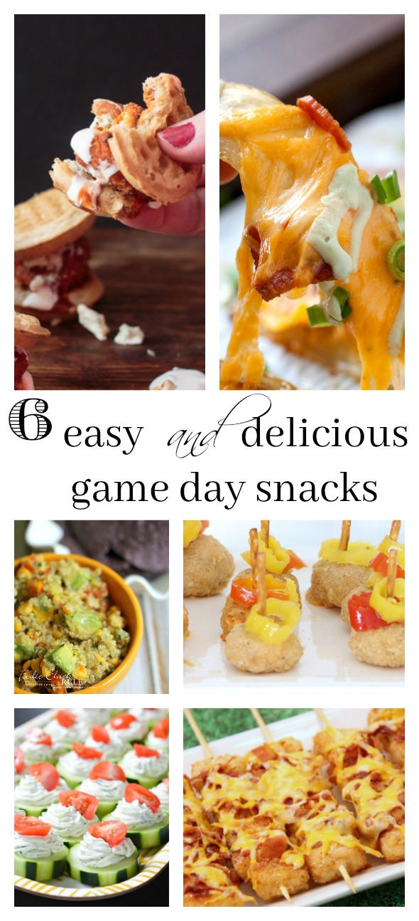 6 Easy appetizers your super bowl crowd will love