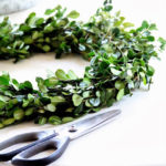 boxwood wreath from duke manor farm