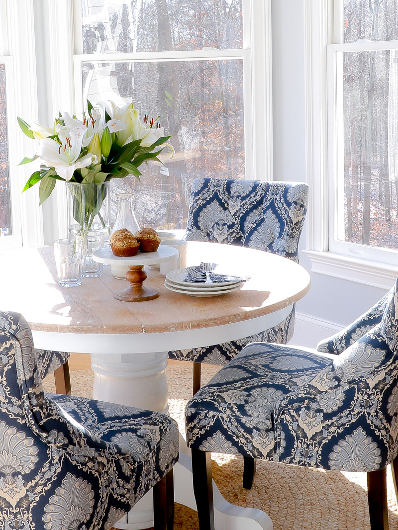 This is what happens when you add color and pattern to a small space