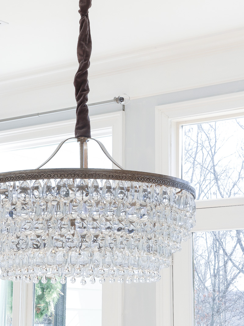If You Want A Beautiful Drop Down Chandelier, This Is It