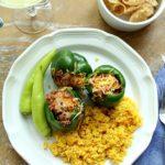 stuffed pepper dish