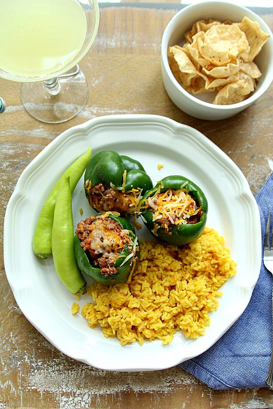 stuffed pepper dish
