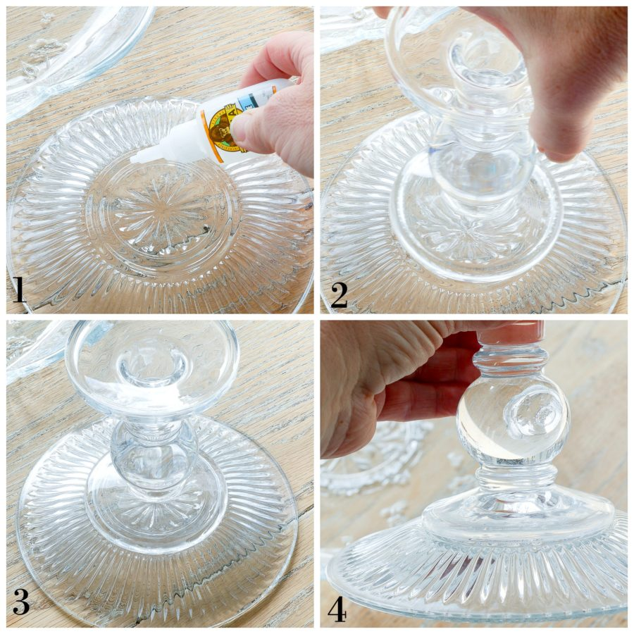 How to make a cake stand at the last minute