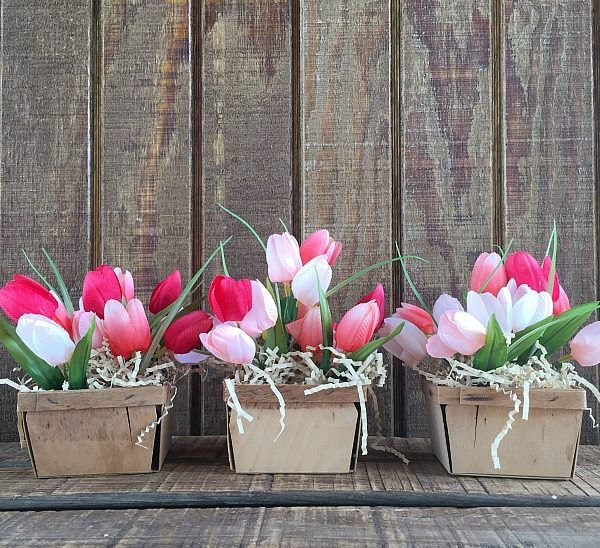 4 simple and easy tips to create a beautiful Spring arrangement