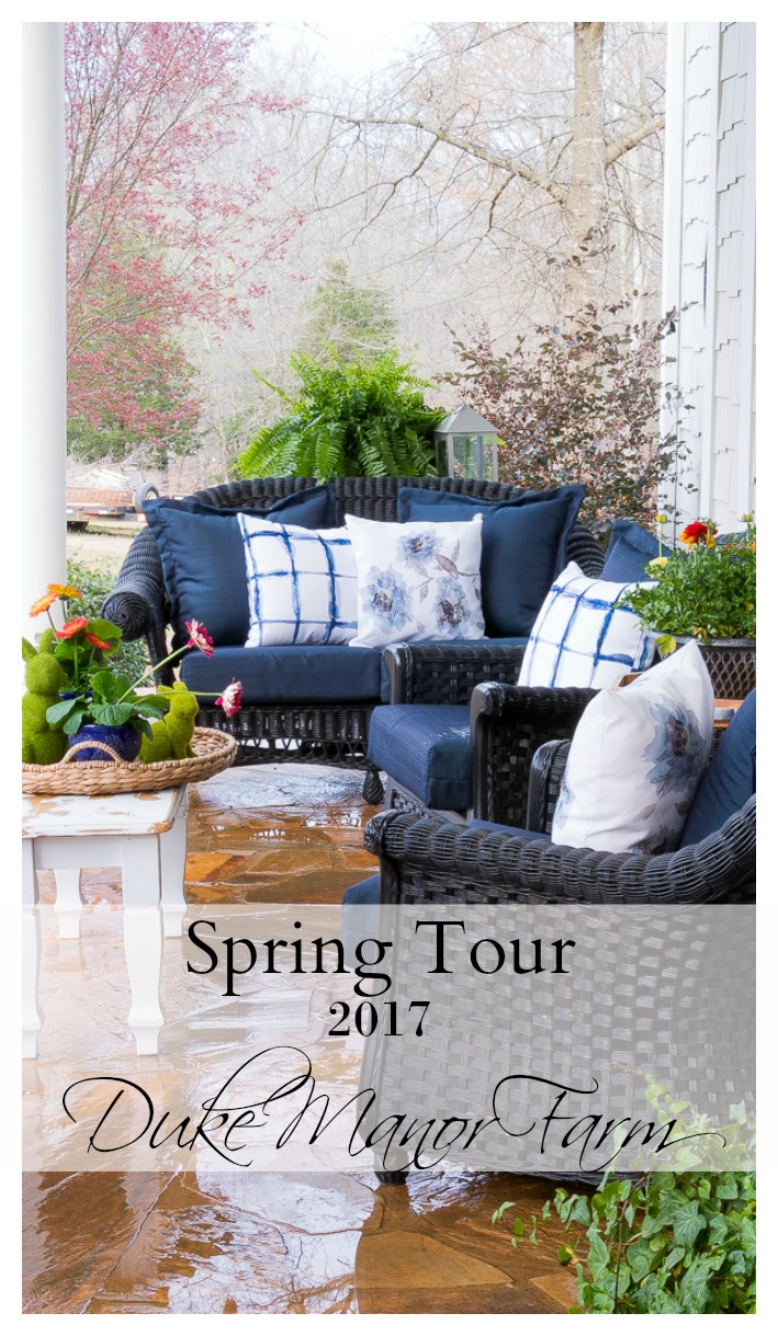 Spring Home Tour at Duke Manor Farm