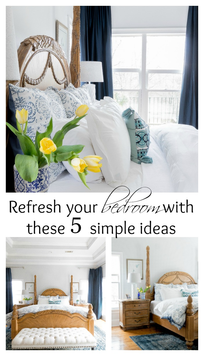Refresh your bedroom for Spring with these 5 simple tips