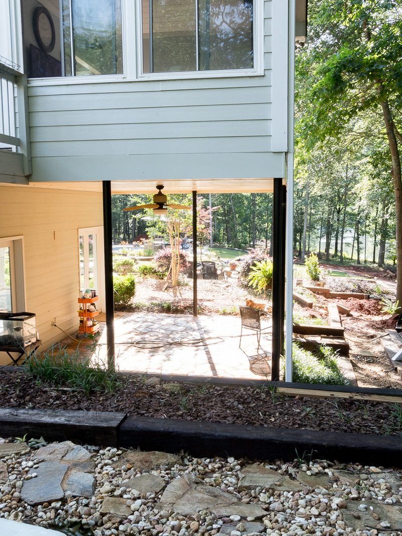 Building a screen porch...the plan