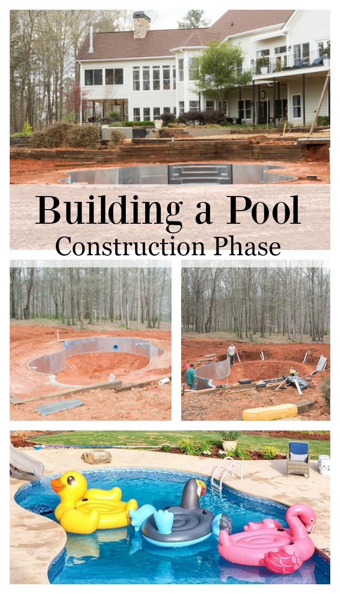 The Pool Build (During Construction)