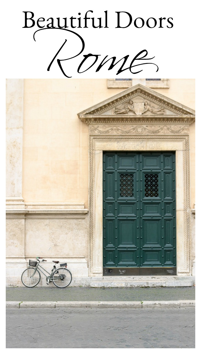 Beautiful Doors of Rome