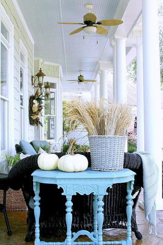 Ideas and Inspiration for your Fall Front Porch