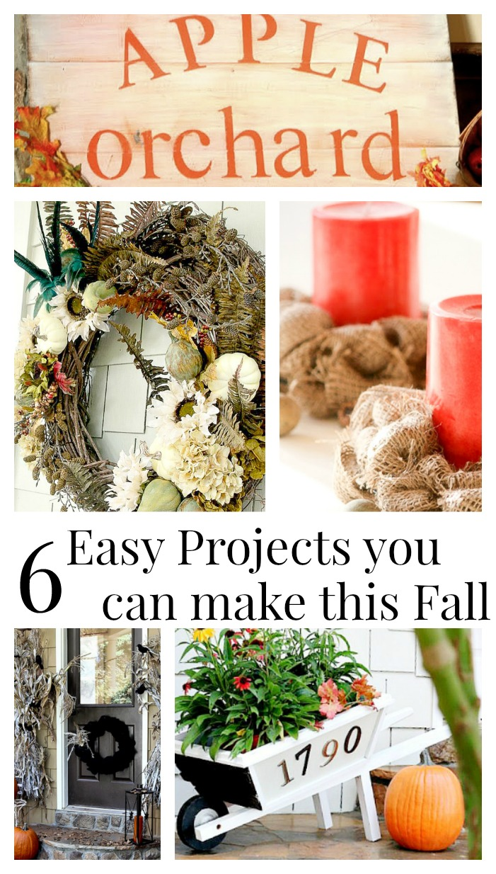 6 Easy Projects you can do this Fall