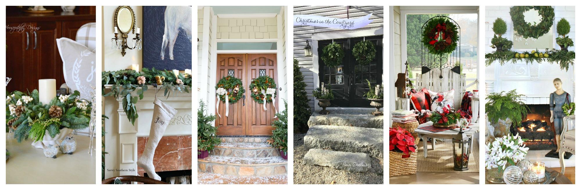 Holiday Front Doors at Duke Manor Farm