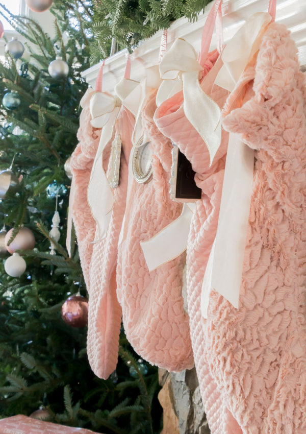 Easy DIY Holiday Stockings