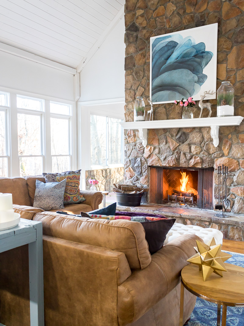 Creating cozy inside your home when it's cold outside