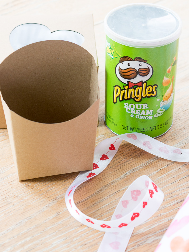 Last minute Valentine Ideas using items from your house