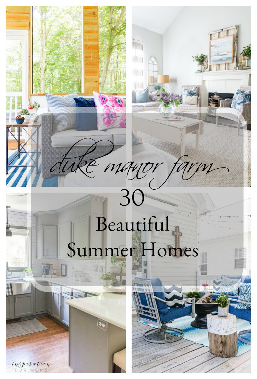 30 Beautiful Summer Home Tours