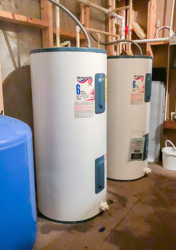 What to do when your water heater busts