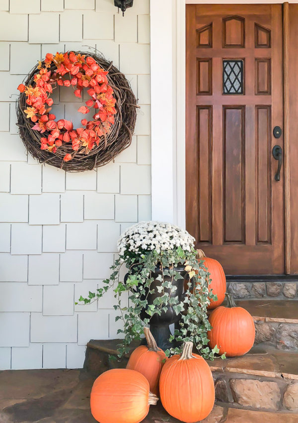 How to make a Fall wreath appear fuller