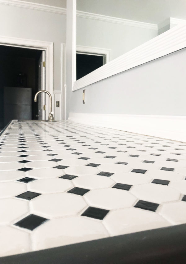 How to change the look of your grout in minutes