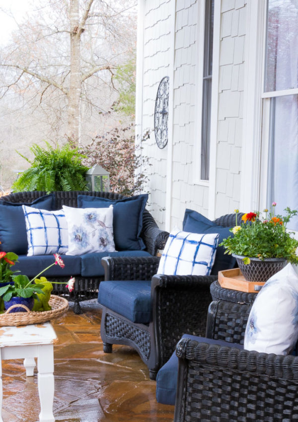 4 ways to get your porch and patio ready for Spring Time