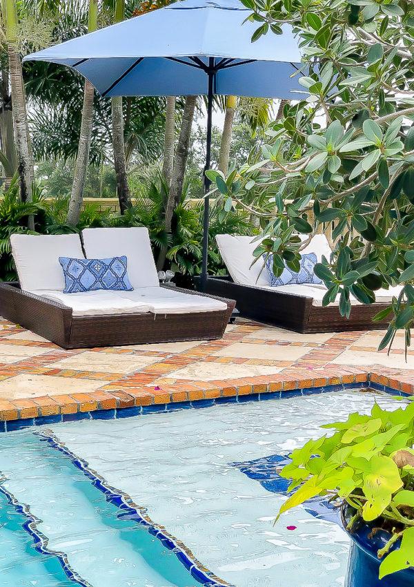 Florida Poolside Retreat