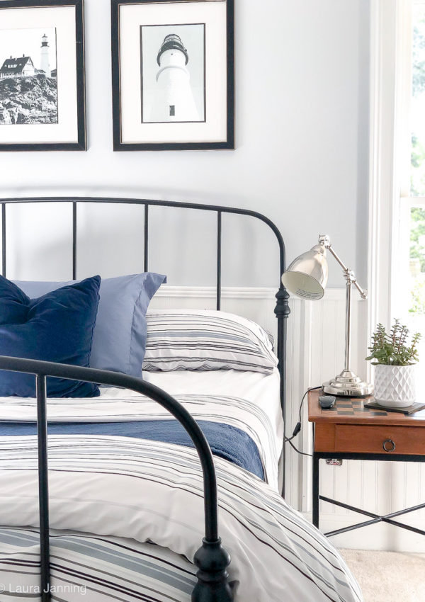How to create a Coastal Inspired Bedroom on a budget