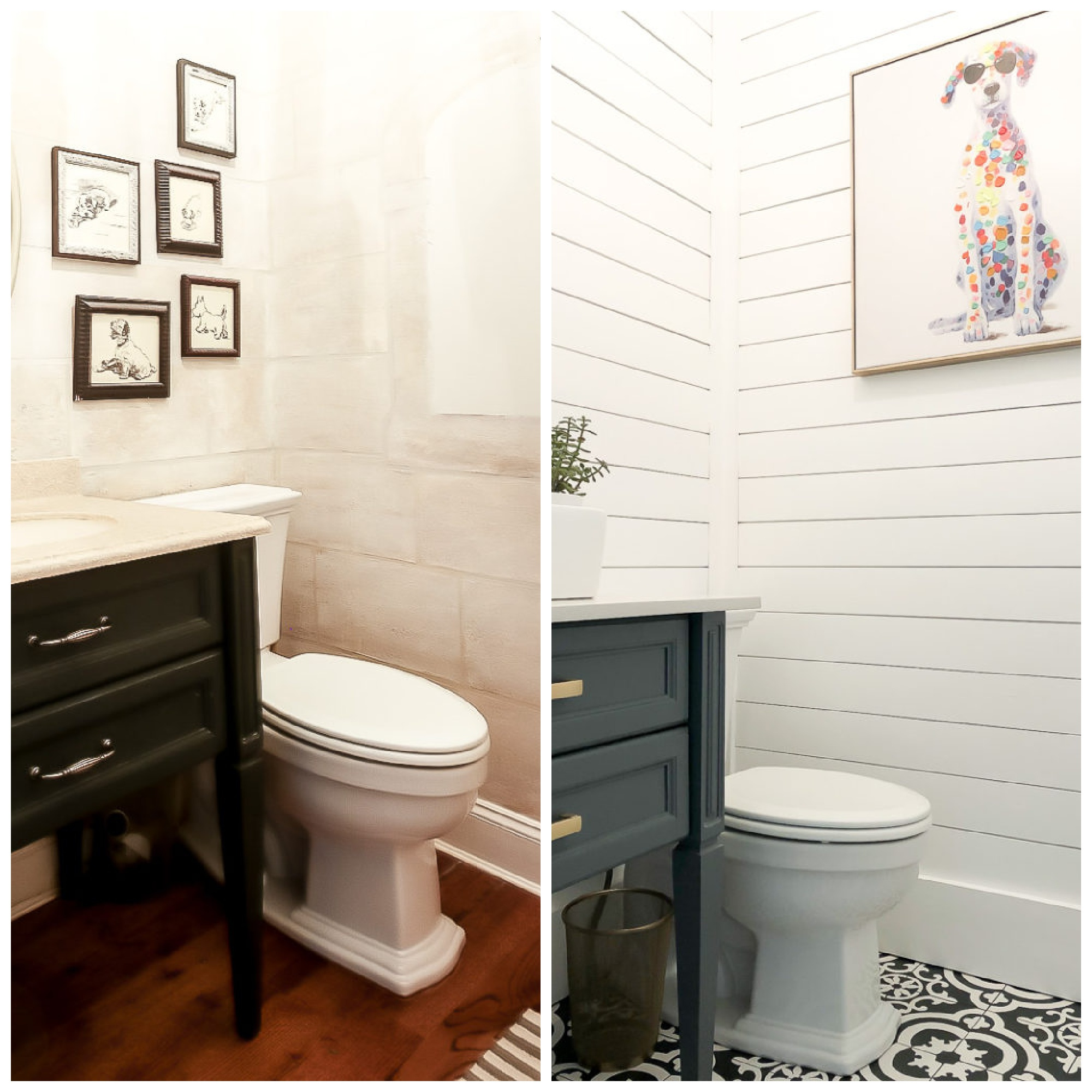 Before And After Bathroom Makeovers Duke Manor Farm
